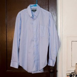 Ralph Lauren Classic Fit Dress Shirt Blue Size 17